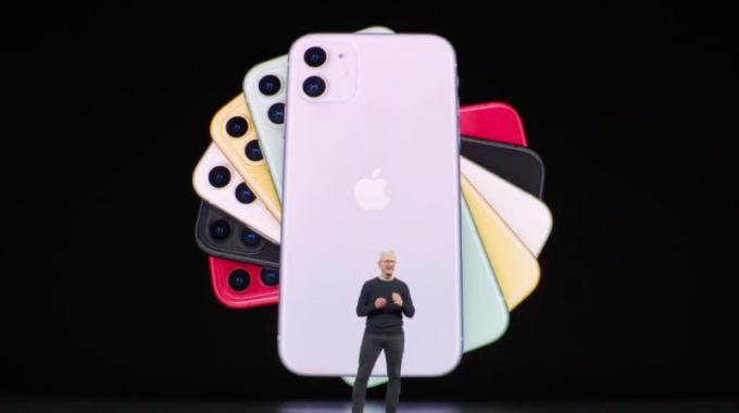 Choque del iPhone 11 mientras se revela la característica secreta de Apple