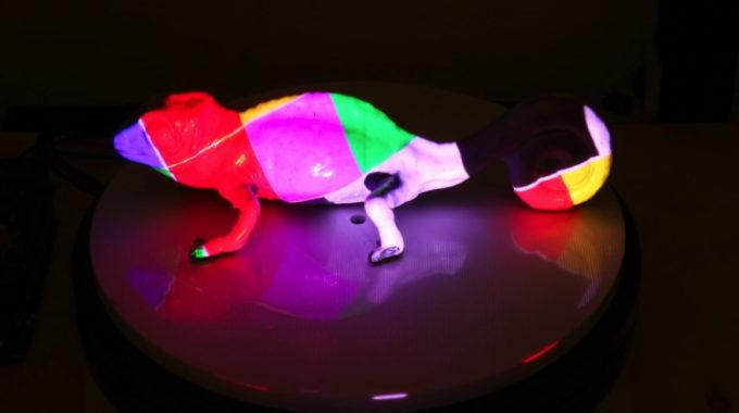 La increíble tinta reprogramable del MIT puede crear objetos que cambian de color.