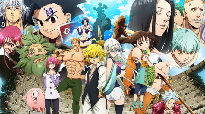 Mira The Seven Deadly Sins Temporada 3