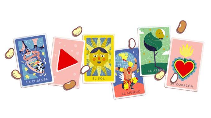 Google Doodle del lunes es un homenaje al juego mexicano Lotería, y también puedes jugarlo