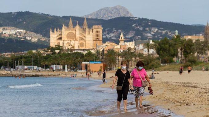 España permitirá a los turistas alemanes visitar las Islas Baleares como prueba antes de la reapertura