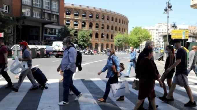 España se convierte nuevamente en el punto de acceso europeo COVID-19