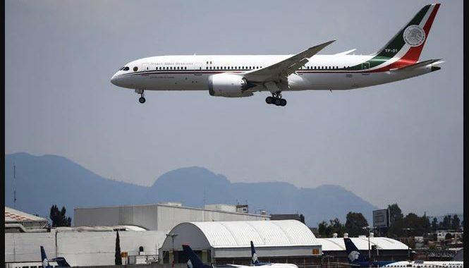Jet de lujo rechazado por el presidente de México regresa no vendido desde EE.