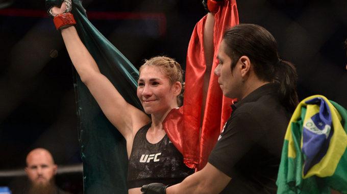 Irene Aldana orgullosa de representar a México al borde de la historia de UFC: 'Me llena de orgullo'