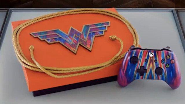 Xbox se convierte en Wonder Woman 1984 con espectaculares consolas al estilo de los 80
