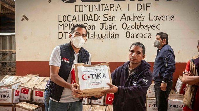 Turquía envía ayuda por terremoto a México
