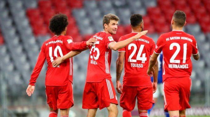 El Bayern golea al Schalke por 8-0