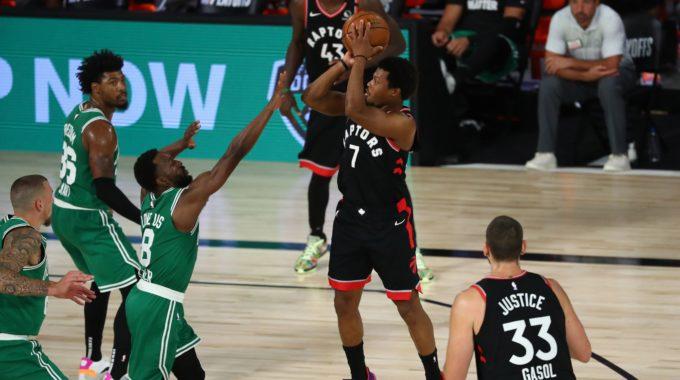 Los Raptors derrotan a los Celtics en un thriller de 2OT para forzar el Juego 7