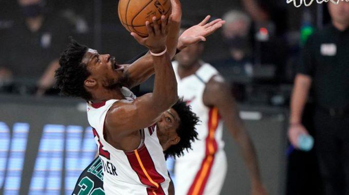 Miami Heat está en la zona en el enfrentamiento de la final del Este contra Boston Celtics