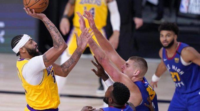 LA Lakers abruman a los Nuggets en el primer partido de la final del Oeste detrás de los 37 de Anthony Davis