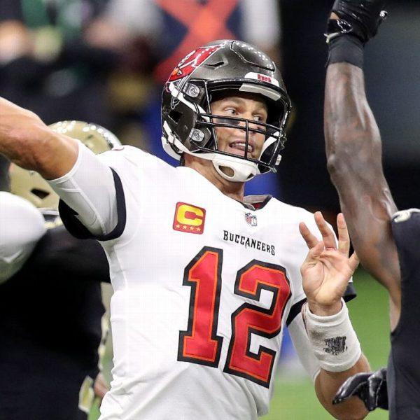 Tom Brady se recupera; 'sobresaliente' en la primera victoria con los Buccaneers