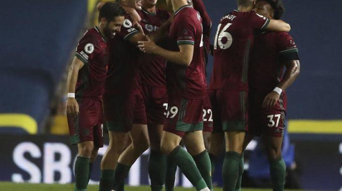 Wolves gana por 1-0 en Leeds y termina la carrera de goles en EPL