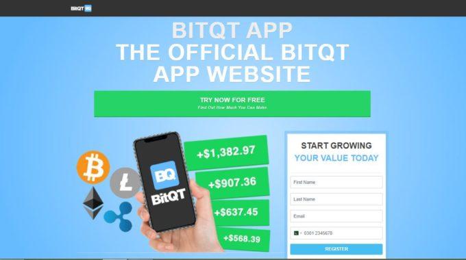 Que es BitQT – ¿Es legítima la aplicación BitQT? o una estafa?