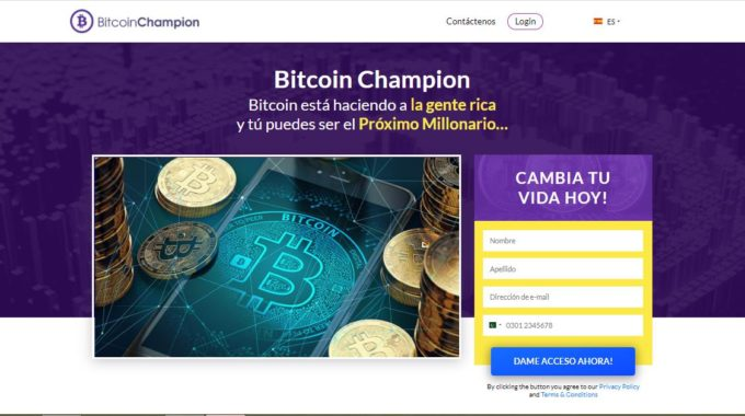 Bitcoin Champion Es Real O Falso? – Bitcoin Champion Opiniones Mexico