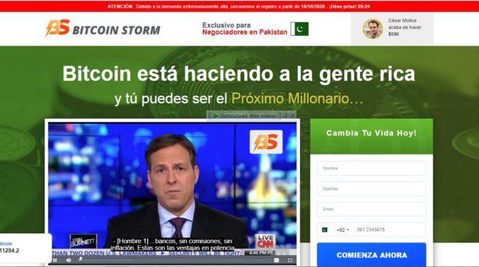 Bitcoin Storm de Alberto Chicote
