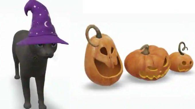 Google evoca nuevos animales 3D para Halloween: esqueleto danzante, gato negro y más