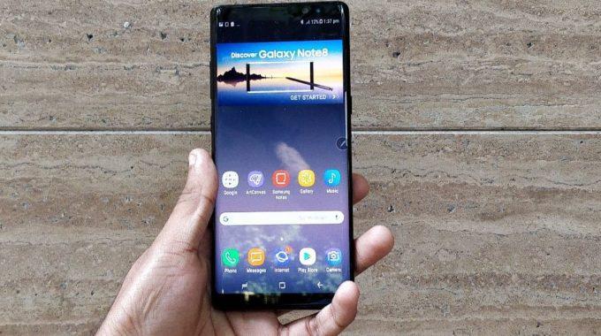 Samsung retira el Galaxy Note8 de recibir actualizaciones de seguridad mensuales