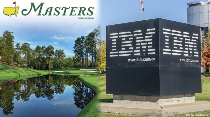 The Masters busca una experiencia de fan 'as' con Watson de IBM