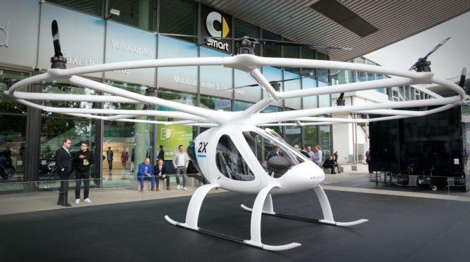España presenta plan para taxis voladores para 2022