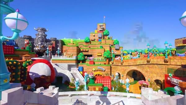 Super Nintendo World se inaugurará en febrero con un paseo interactivo de Mario Kart