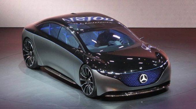 Esta pantalla táctil de 56 pulgadas habilitada para IA estará en el nuevo automóvil eléctrico de Mercedes. Eche un vistazo