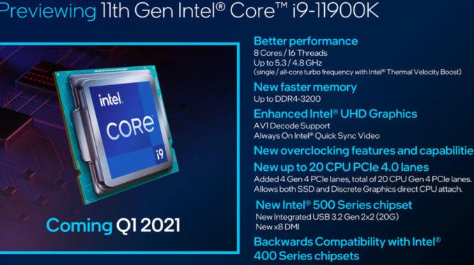 Intel en CES: Alder Lake se parece mucho a M1, además de nuevos chips para portátiles para juegos