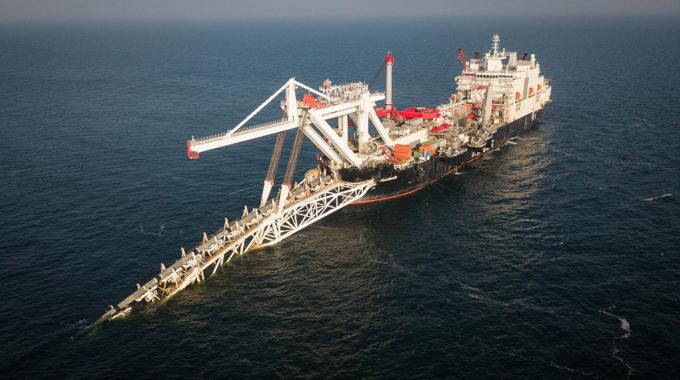 Buque ruso inicia trabajos de Nord Stream 2 en aguas danesas