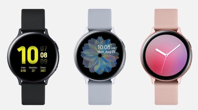 Galaxy Active Watch 2 obtiene SmartThings Find en una actualización repleta de funciones