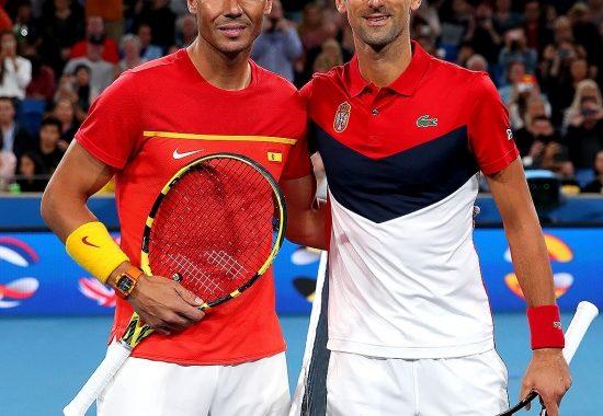 Novak Djokovic y Rafael Nadal liderarán a Serbia y España en la ATP Cup 2021