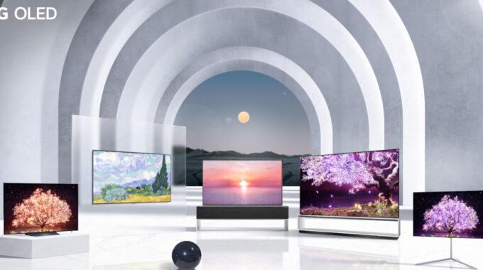 Los televisores OLED 2021 de LG son actualizaciones modestas, pero vienen monitores de computadora