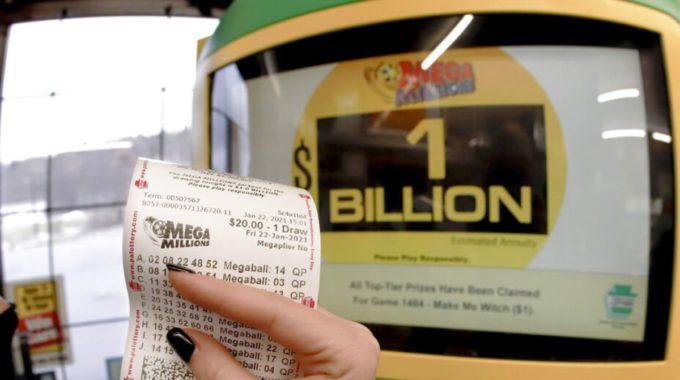 El billete ganador de la lotería Mega Millions de mil millones de dólares se compró en Michigan.