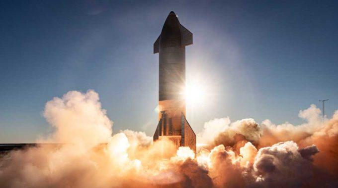SpaceX Hot Fire prueba su vehículo Starship tres veces en cuatro horas