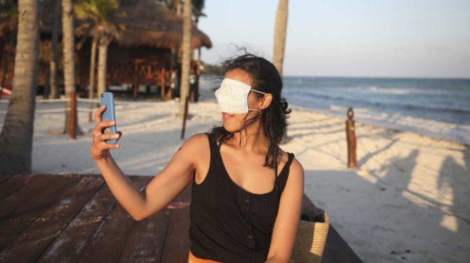México ve aumentos en el turismo durante las vacaciones en medio de una pandemia