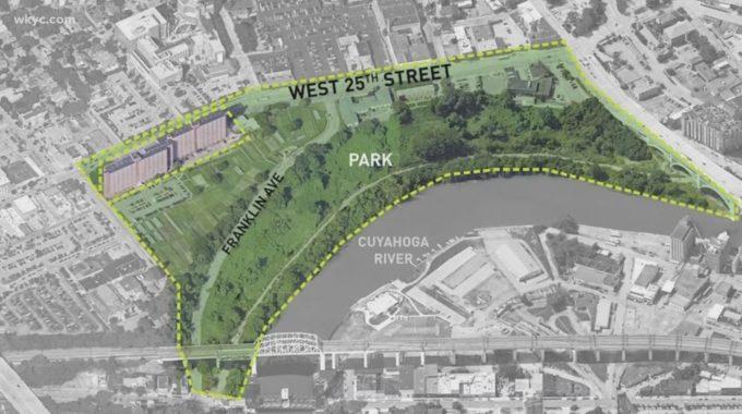 Comienza la demolición del nuevo proyecto del parque Irishtown Bend en la ciudad de Ohio
