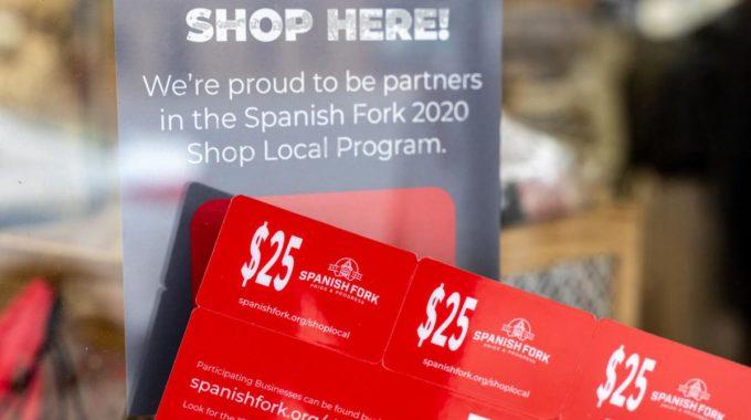 Spanish Fork dice que el programa de ayuda para pequeñas empresas generó $ 660.000 para la economía local