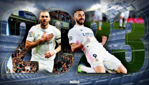 Karim Benzema firmará una extensión de contrato con el Real Madrid hasta 2023