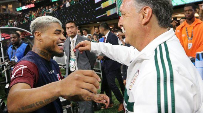 México viene a jugar en el estadio Mercedes-Benz