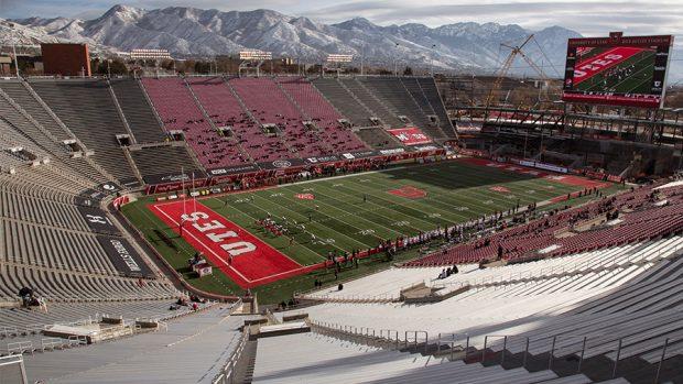La Universidad de Utah permitirá a 6.500 fanáticos para el juego de fútbol americano de primavera Rojiblanco el 17 de abril