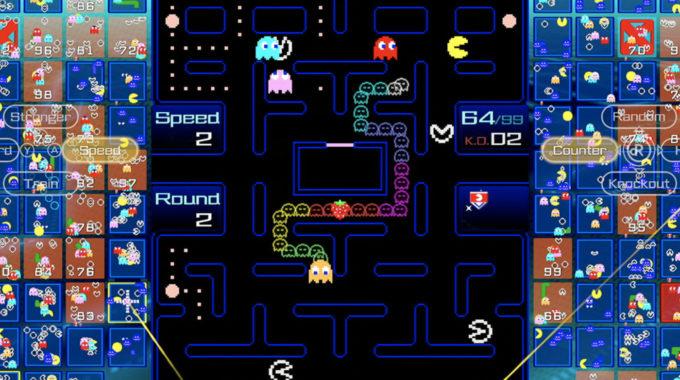 Pac-Man 99 es un nuevo juego de batalla real para Switch