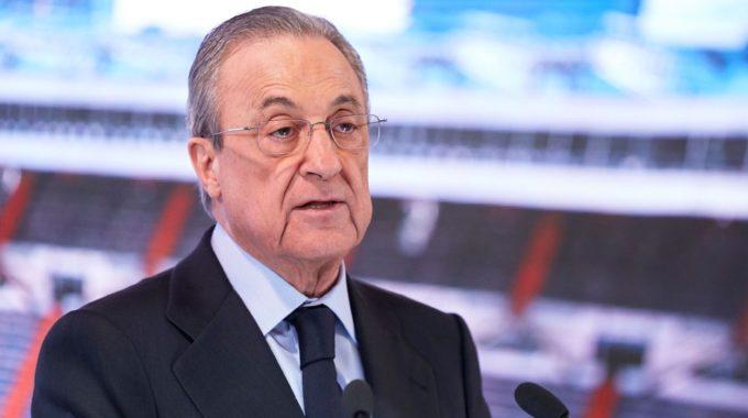 Pérez, del Real Madrid, dice que la UEFA no echará a los equipos de la Superliga de la Champions League