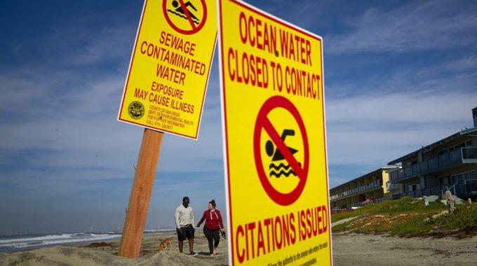 Playa de California cerrada después de explosión de aguas residuales en México durante semanas: informes