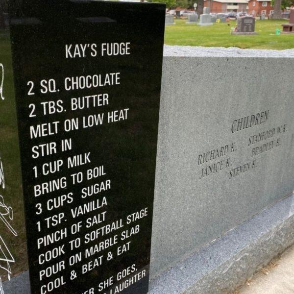 El dulce mensaje sobre la lápida de Utah se comparte en todo el mundo