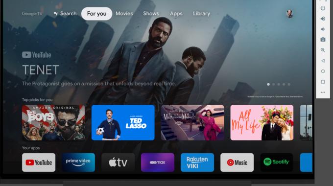 Android TV 12 Beta está disponible, pero se excluye el Chromecast con Google TV