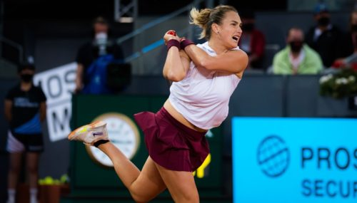 Sabalenka supera a Pavlyuchenkova y establece la revancha de Barty en la final de Madrid
