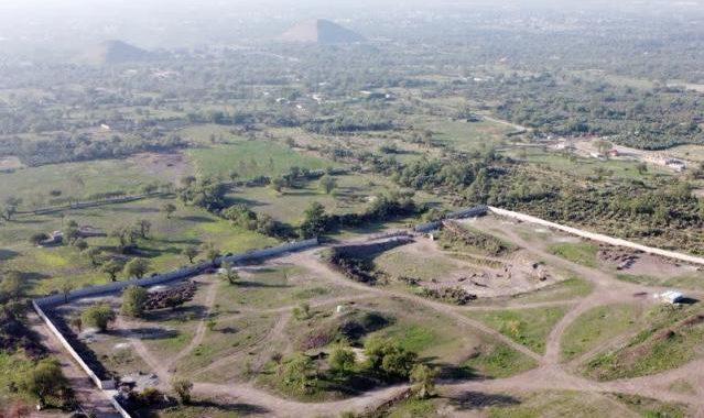 La construcción ilegal amenaza los sitios antiguos de Teotihuacán en México