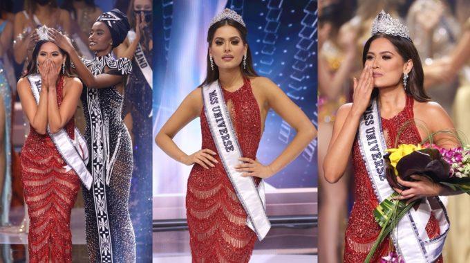Miss México Andrea Meza coronada Miss Universo 2021