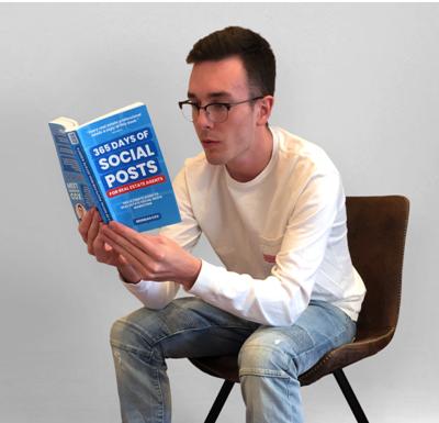 Brendan Cox Lanza Nuevo Libro '365 Days of Social Posts For Real Estate Agents'
