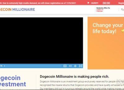 Dogecoin Millionaire Avis 2021 ; ¿Estafa o una aplicación comercial notable?